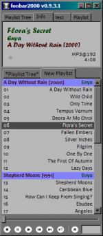 Single Column Playlist